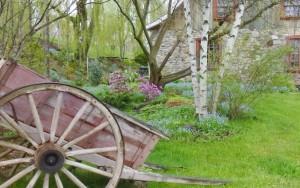 Jardin-Mere-Fees-Charriot-ancêtre