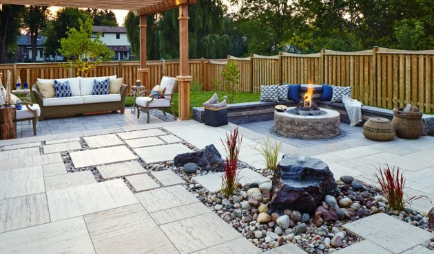 Matériaux nouveaux pour les terrasses et les entrées
