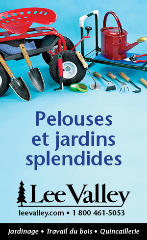 Lee Valley au jardin