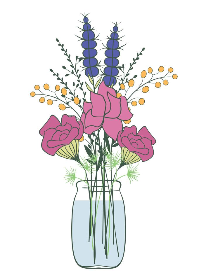 Comment faire un bouquet de fleurs
