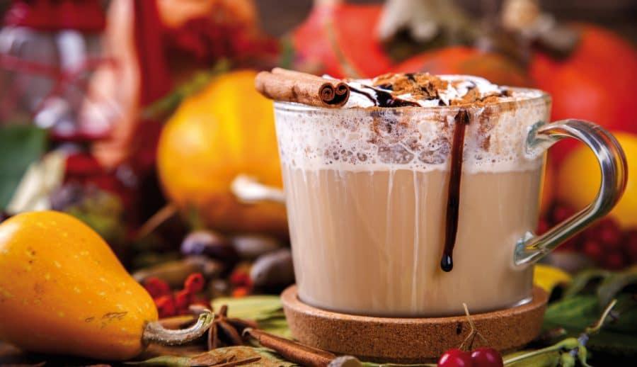 Chocolat chaud automnal à la courge