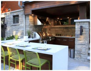 La cuisine extérieure : une pièce à part entiere