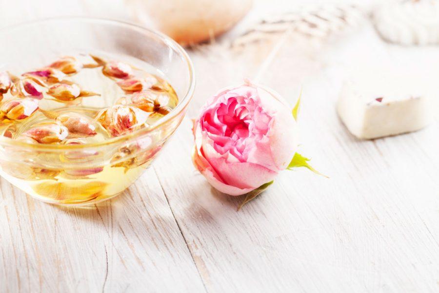 DIY recette beaute a la rose