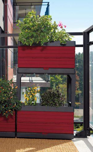 Un jardin modulaire parfaitement adapté au balcon