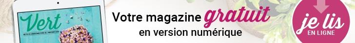 Magazine Vert gratuit en version numérique