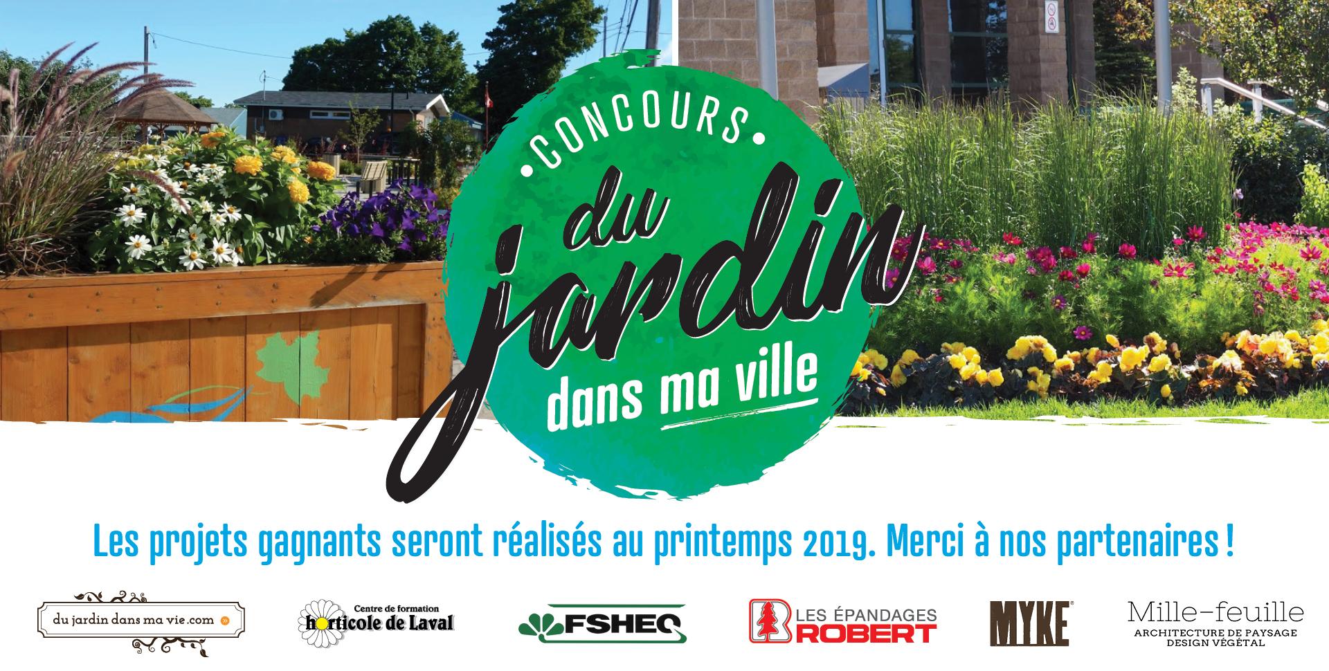Concours Du jardin dans ma ville