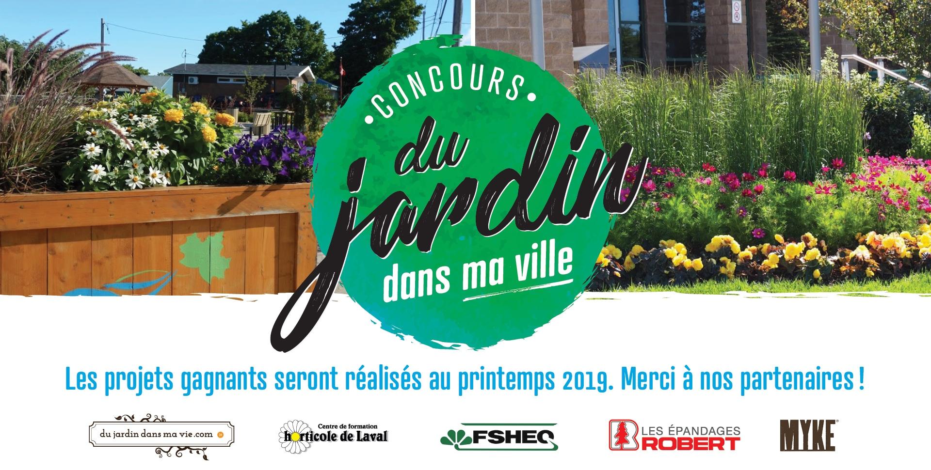 Concours Du jardin dans ma ville 2018