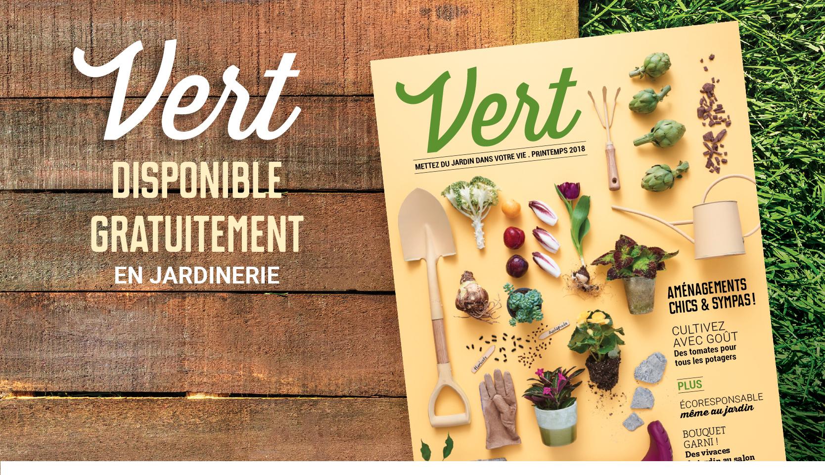 Magazine Vert 2018 gratuit