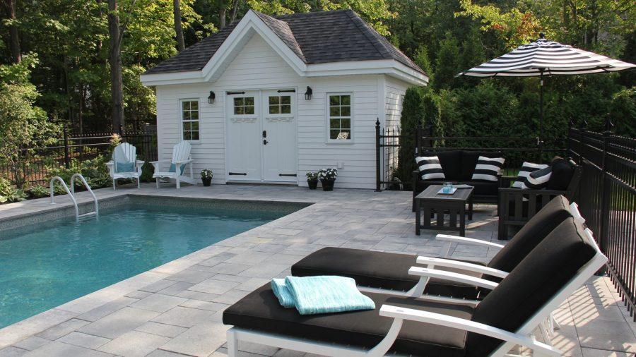 piscine cour