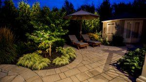 éclairage extérieur jardin