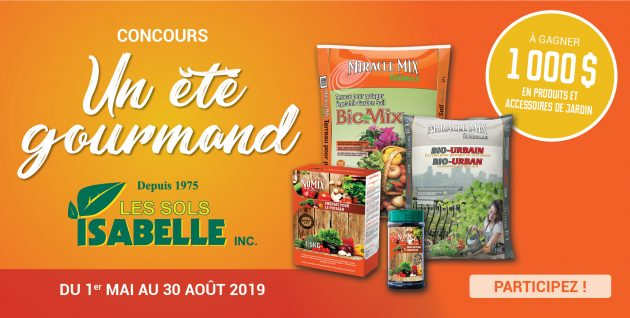 Concours Un été gourmand avec Les Sols Isabelle – 1 000 $ à gagner