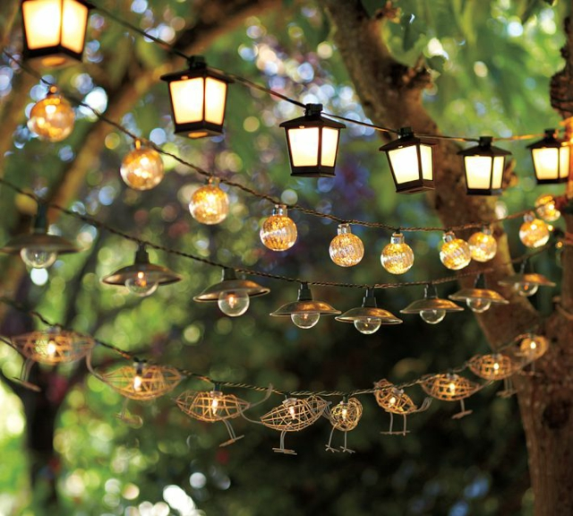 guirlandes à grosses ampoules
