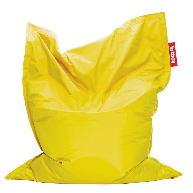 Coussin Original Fatboy jaune