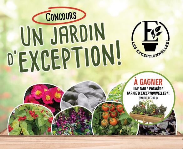 Concours Un jardin d'exception