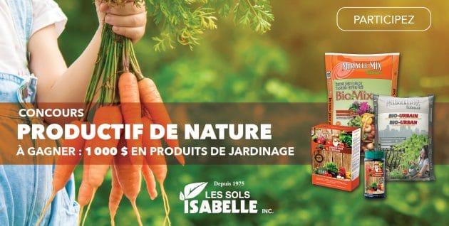Concours Productif de nature présenté par Les Sols Isabelle