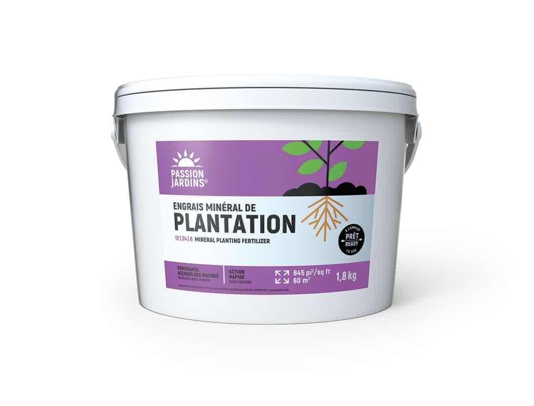 Engrais mineral de plantation Passion Jardins