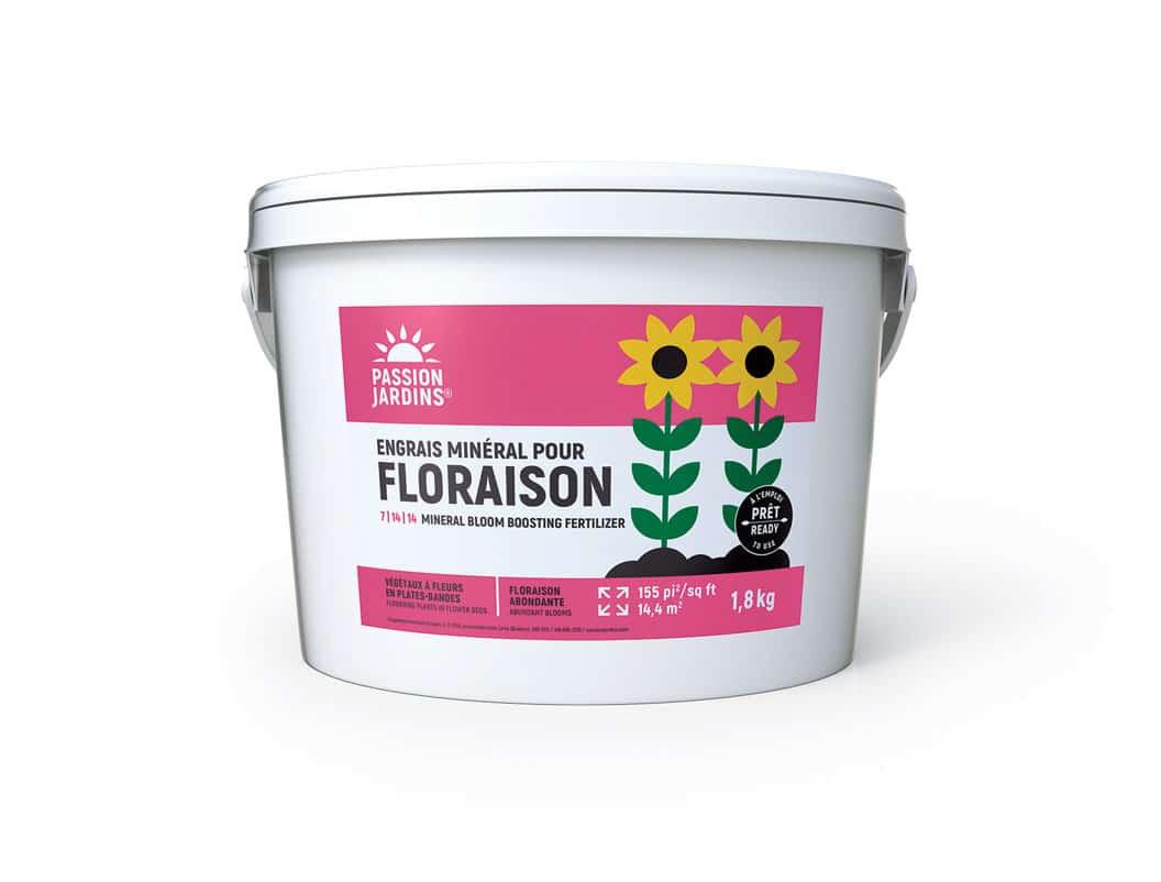 Engrais mineral pour floraison Passion Jardins