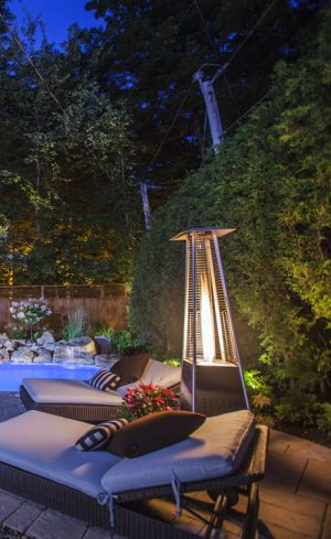 Différents modèles de chauffe-terrasses à découvrir pour prolonger l'été