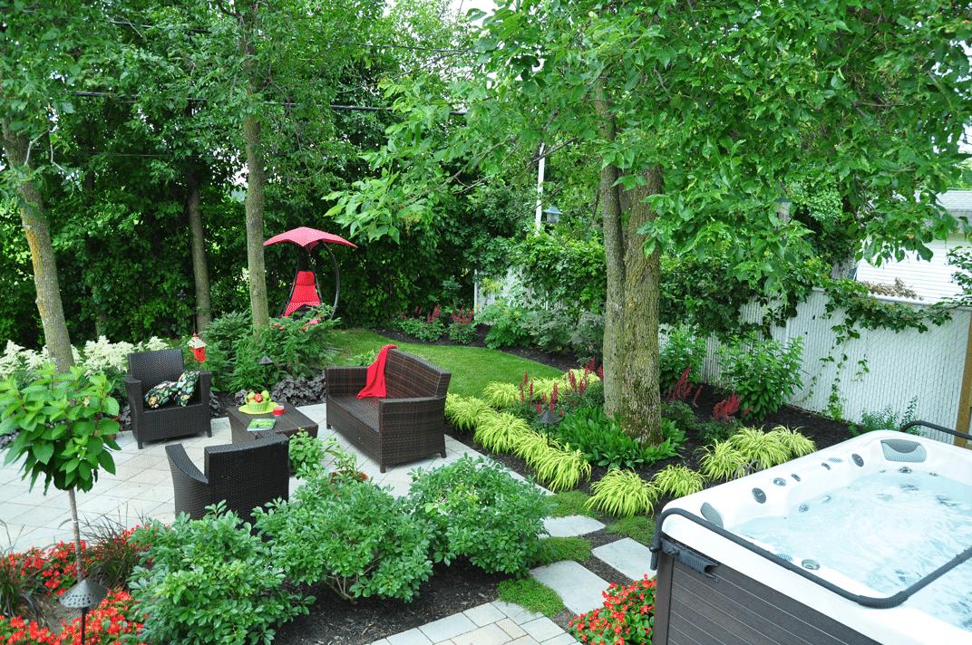 Mobilier de jardin pour recevoir