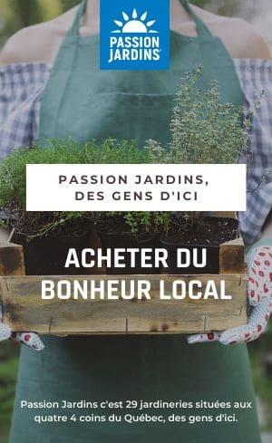 Passion Jardins achat local