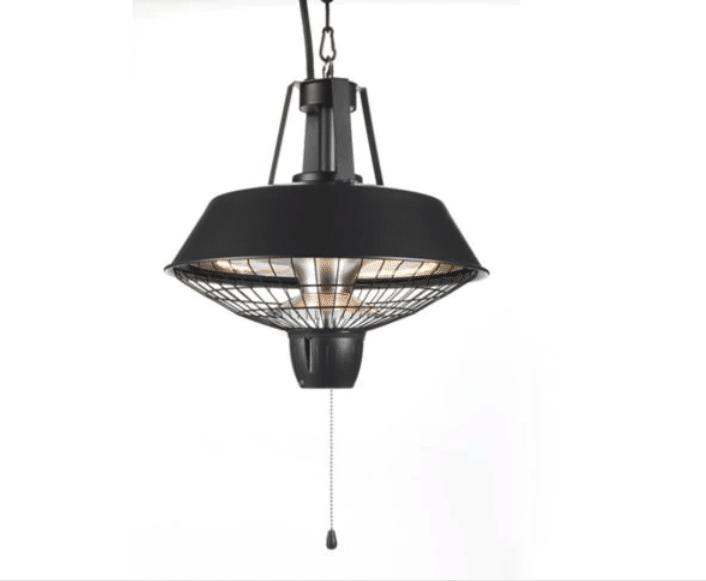 Chauffe-terrasse lampe