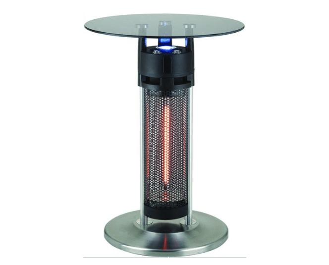Table bistro chauffe-terrasse