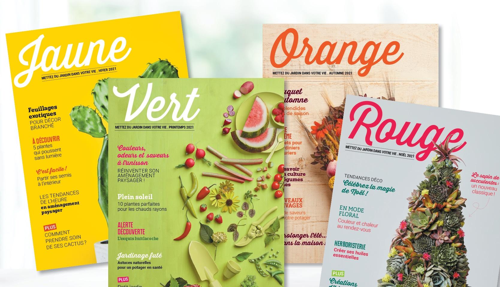 Abonnement magazine Vert