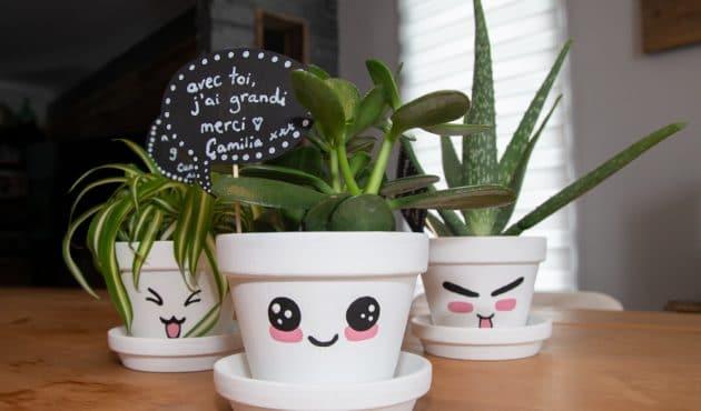 3 idées cadeaux végétales à faire avec les enfants