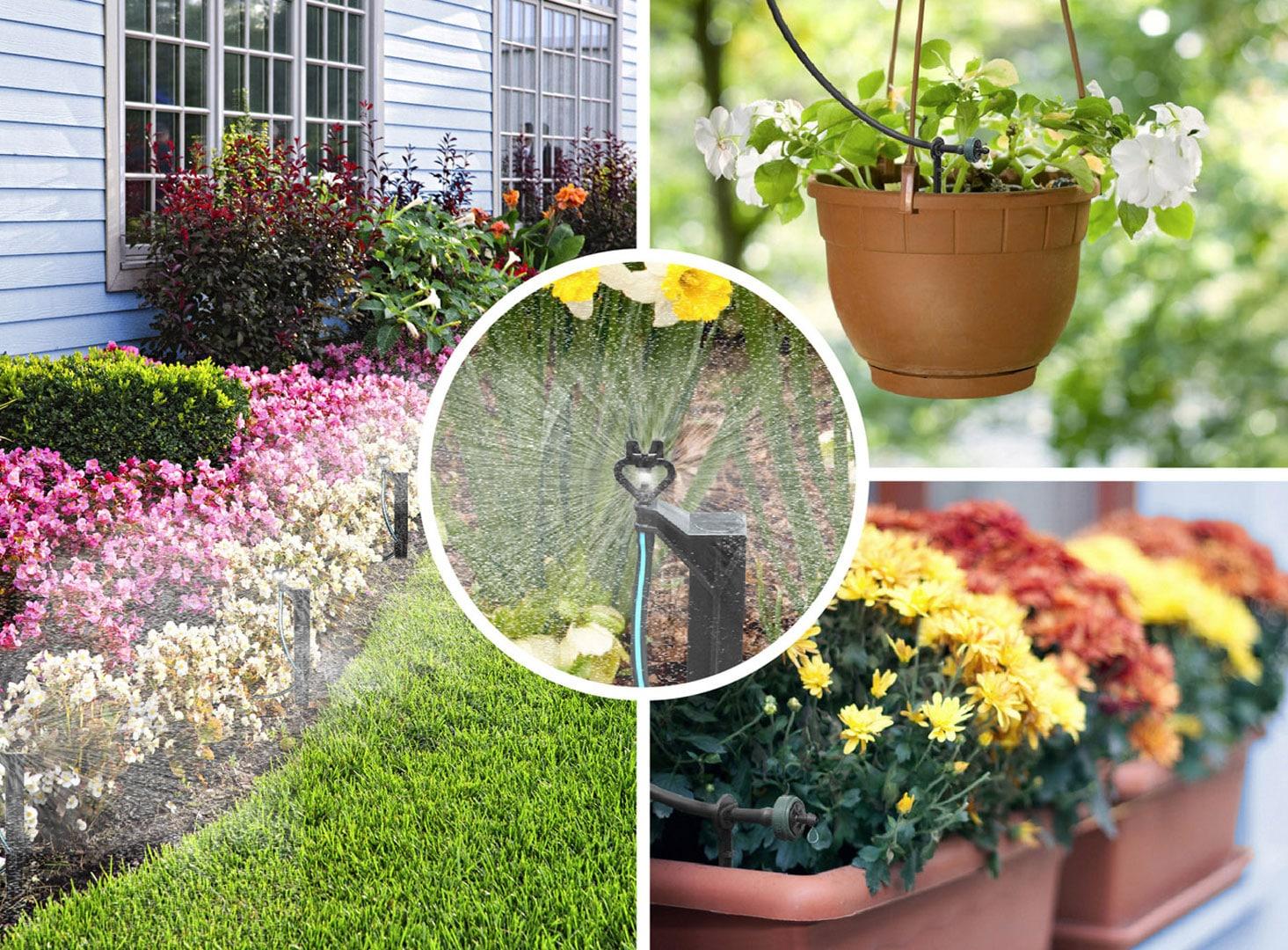 Irrigation automatique du jardin