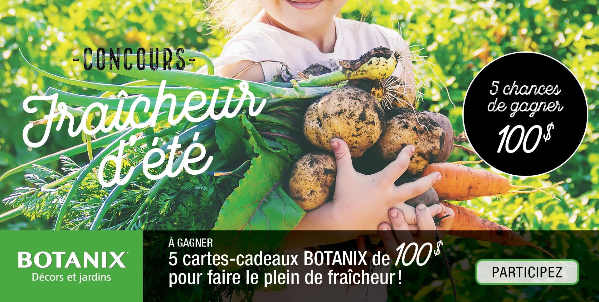 Concours Botanix Fraicheur ete
