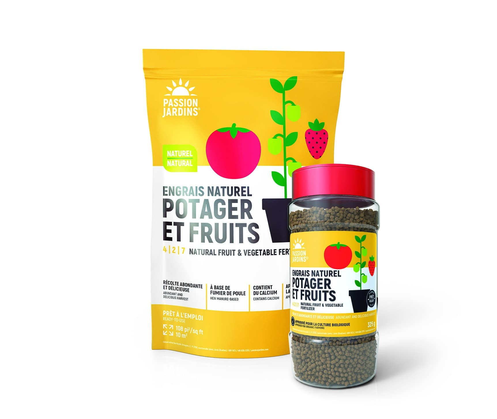 engrais naturel pour potager et fruits