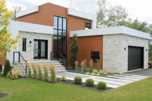 Facade de maison moderne